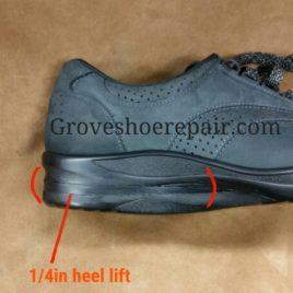 Heel Elevation (build up heel only)