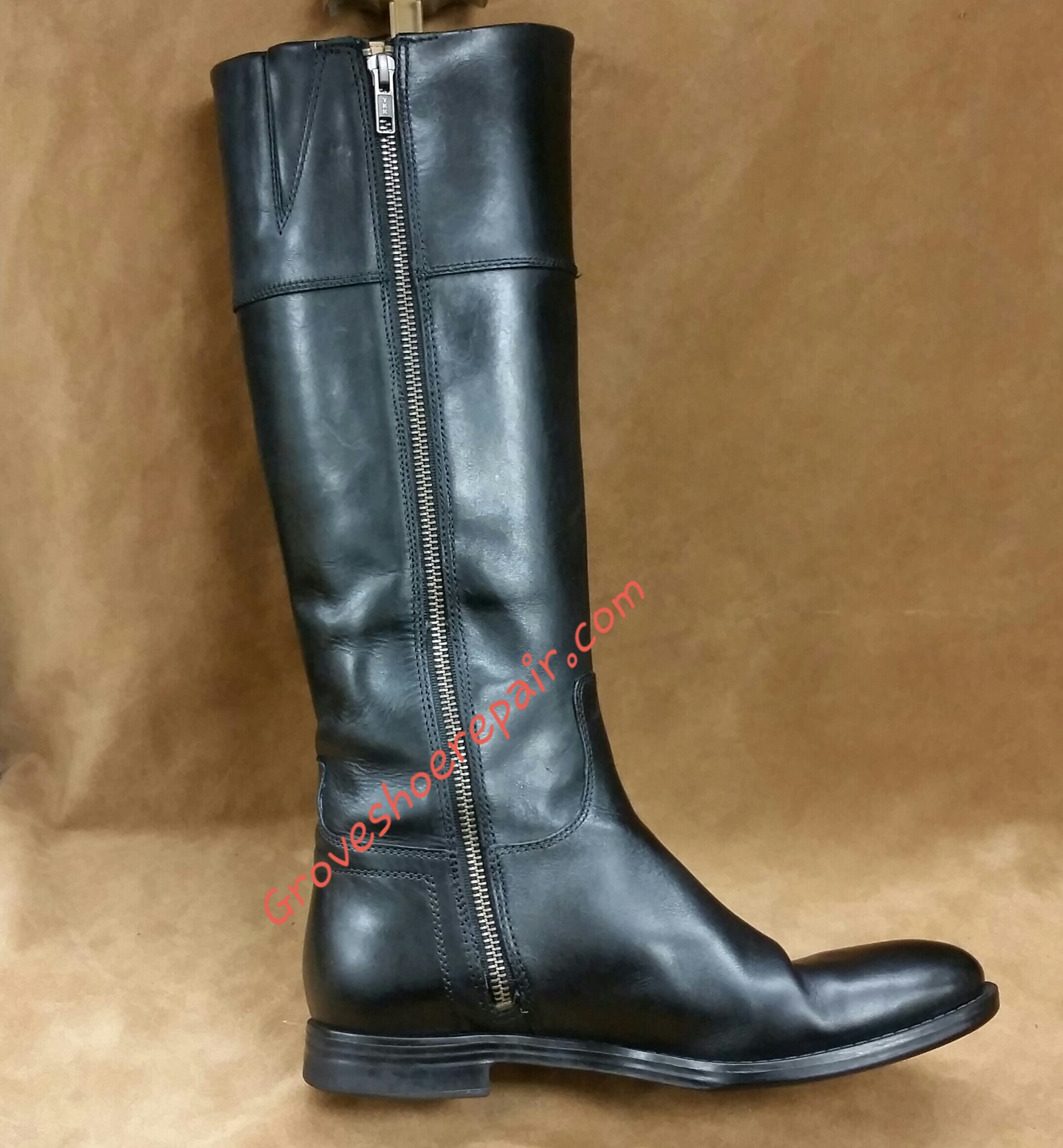 Boot Zipper Replacement Grove Shoe Repair